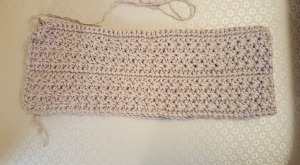Unfinished Star Stitch - Cowl - Skirt